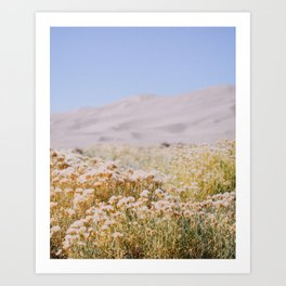 miles to go, nowhere to be. Art Print