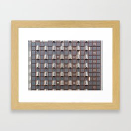 Surface Tension: West Glasgow Hospital Framed Art Print