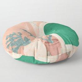 Green Door Floor Pillow