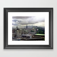 Edinburgh. (II) Framed Art Print