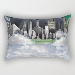 TOMORROW WORLD Rectangular Pillow