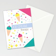 Ice Cream Therapy Stationery Cards