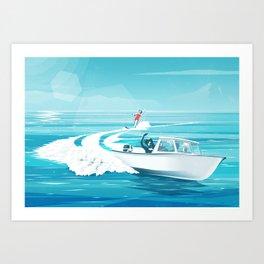 Opplett Art Print