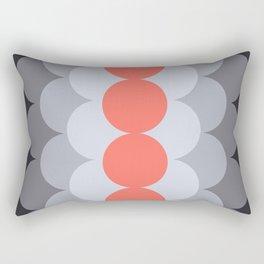 Gradual Living Coral Rectangular Pillow