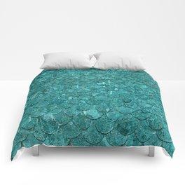 Real Mermaid Scales Comforters