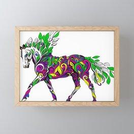 Horse of Nature Framed Mini Art Print