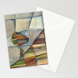 The Tree Holds onto the Hill Stationery Cards
