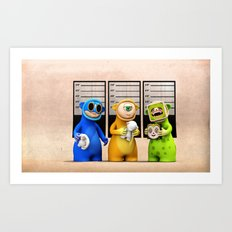 The Usual Suspects Art Print