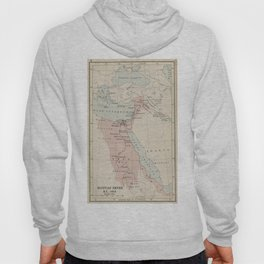 Vintage Map of The Egyptian Empire (1913) Hoody