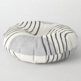 Sun Arch Double - Grey Floor Pillow