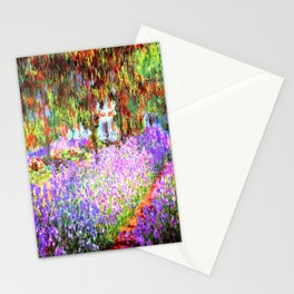 Monets Garden in Giverny Stationery Cards