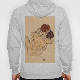 """Egon Schiele """"Mann und Frau (Umarmung)"""" Hoody"""