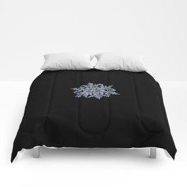 Real snowflake 13 February 2017 n.3 black Comforters