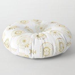 Evil Eyes – Gold Palette Floor Pillow
