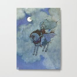 """The Magic Horse"" by Edmund Dulac Metal Print"