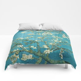 Almond Blossoms by Vincent van Gogh Comforters