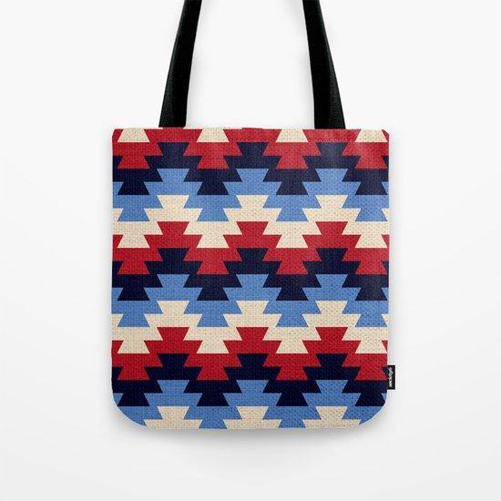 Aztec geometric pattern Tote Bag