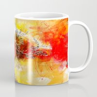archan nair Mugs featuring Open Minds or Something by Archan Nair