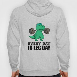 T-Rex Fitness Weights Training legs Gift Hoody
