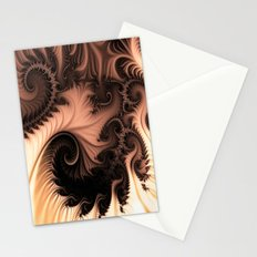 Coffee and cream Stationery Cards