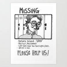 Please find Barb Art Print