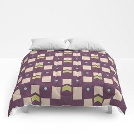 Art Deco Geometric Pattern 273 Comforters
