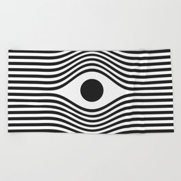 Stay Focused Beach Towel