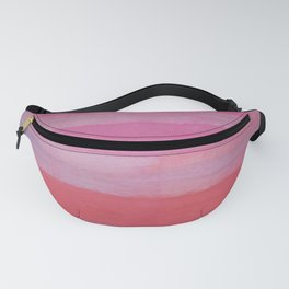 Thick Bronzed Stripes Fanny Pack