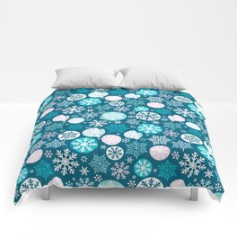 Magical snowflakes IV Comforters