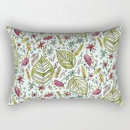 Tropical Rainforest pattern Rectangular Pillow