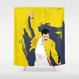 Freddie Forever Shower Curtain
