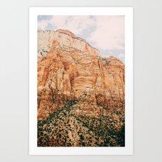 zion national park 3 Art Print