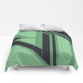 Emanate, #1 Minted Comforters