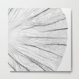 Nervures Metal Print
