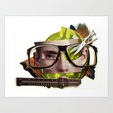 Make me perfect | Collage Art Print