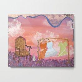 Enchanted Meadow Metal Print