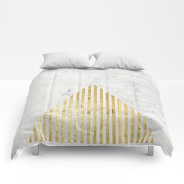 Trian Gold Comforters