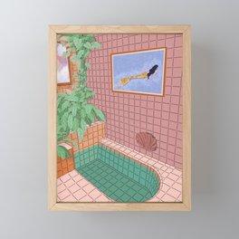 Me Time Framed Mini Art Print