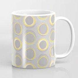 Solar Eclipse MCM Gray-Yellow Coffee Mug