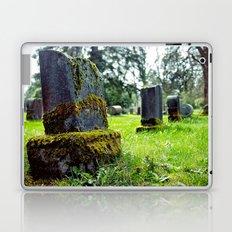 Quiet cemetery Laptop & iPad Skin