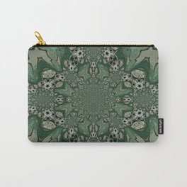 The Green Unsharp Mandala 8 Carry-All Pouch