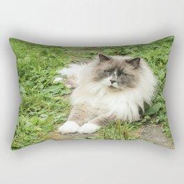Lord Niles the Ragdoll Rectangular Pillow