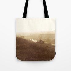 Montauk, NY Sunset Haze Tote Bag