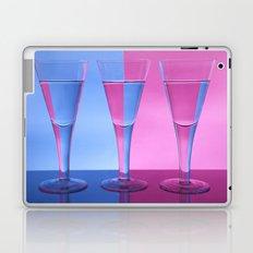 Refracted Wine Glasses  Laptop & iPad Skin