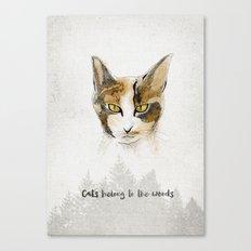 Lilou Canvas Print