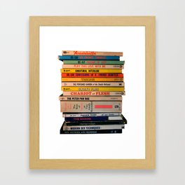 Bedtime Stories Framed Art Print