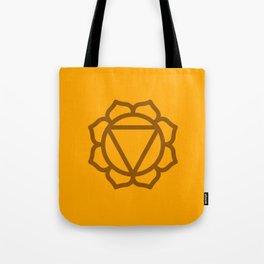 Solar Plexus Chakra Manipura Tote Bag