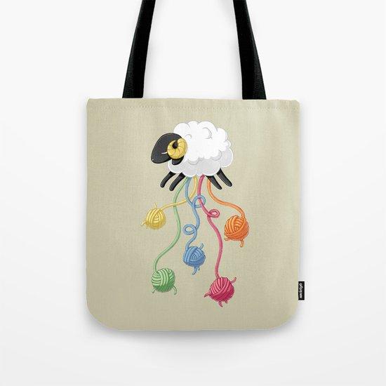 Wool Thread Tote Bag