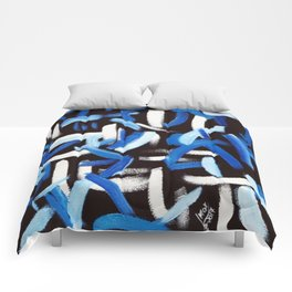 Synesthesia Art (BACH) Comforters