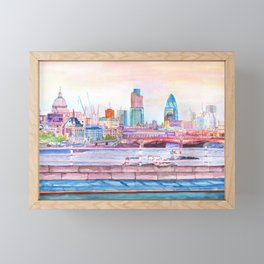 Colorful London Framed Mini Art Print